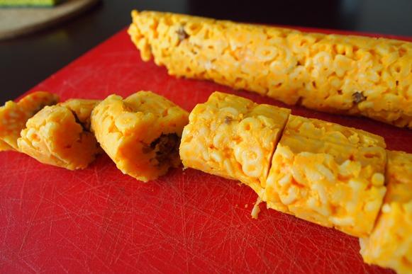 Vegan Spicy Mac 'n' Cheese Beefy Rolls