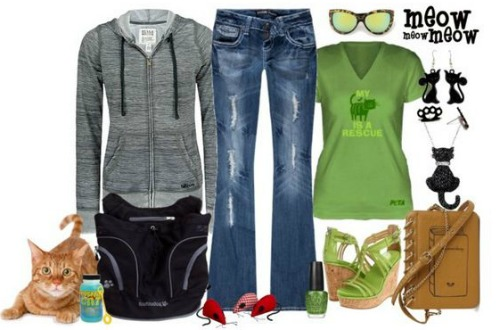 Fashion Friday: Comfy and Casual Is the Cat's Meow for Spring