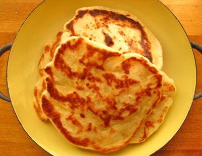 Homemade Vegan Naan Recipe