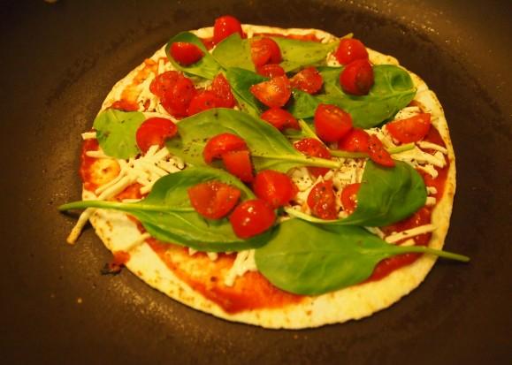 Personalized Pan Pizzas