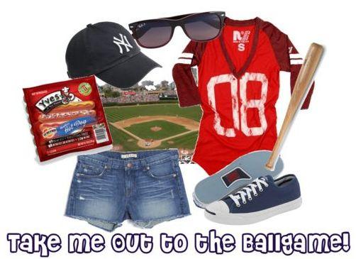 Fashion Friday: Take Me Out to the Ballgame!