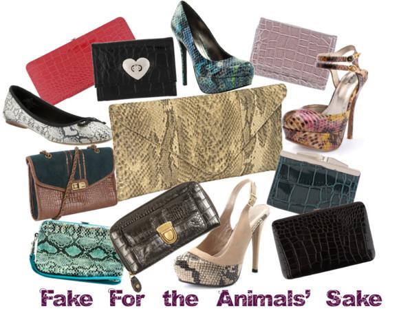 Fashion Friday: Fake for the Animals' Sake