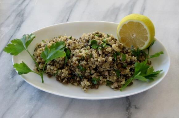 Fill Up on Fiber With Lentil-Quinoa Salad