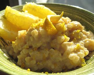 Giada's Holiday Rice Pudding