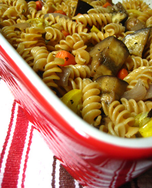 Easy Herbed Pasta Salad