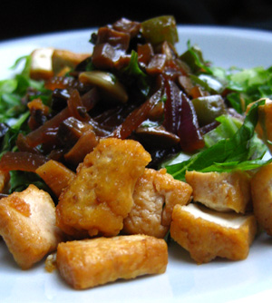 Try This Easy Thai Salad with Tofu Recipe