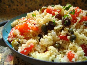 Sicilian Couscous Salad