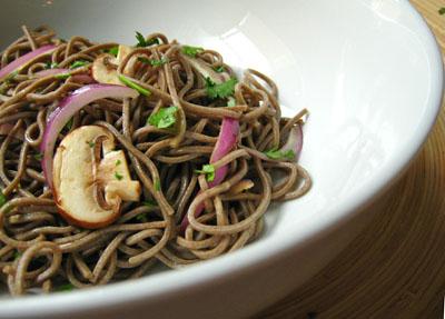Sesame-Soba Noodle Salad