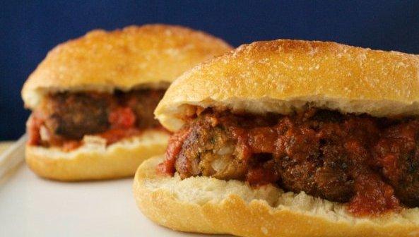 Vegan Meatball Subs