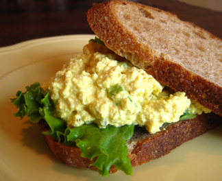 Sandwich of the Week: Egg-Less Salad