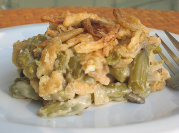 This Vegan Green Bean Casserole Recipe Is a Must-Try