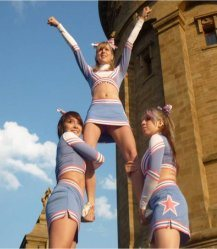 Confessions of a Lean, Mean, Vegan Cheerleading Machine
