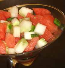 Watermelon-Jalapeno Salad