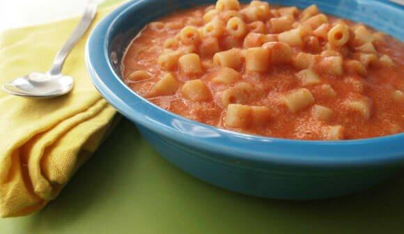 Copycat Recipe: Homemade Vegan 'SpaghettiOs'-Style Pasta