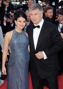 Alec Baldwin and Hilaria Thomas at the 66th Cannes Film Festival