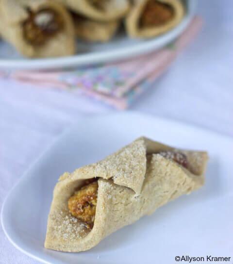 Apricot Walnut Cookies Vegan and Gluten Free
