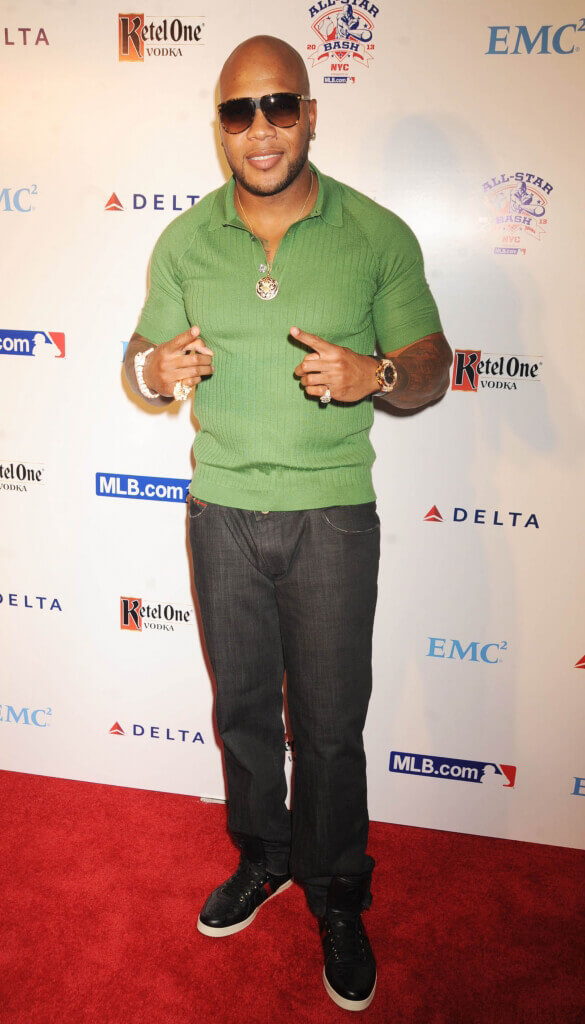 Flo Rida on the Red Carpet