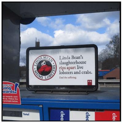 Linda Bean Gas Pump