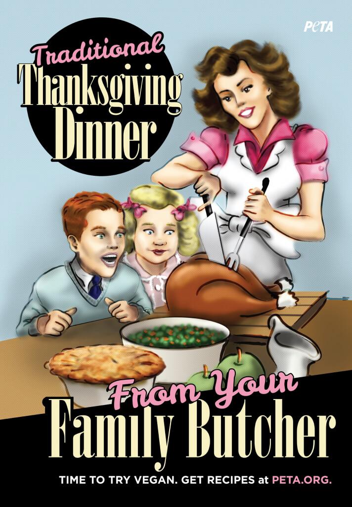 Thanksgiving Dinner Adult Version