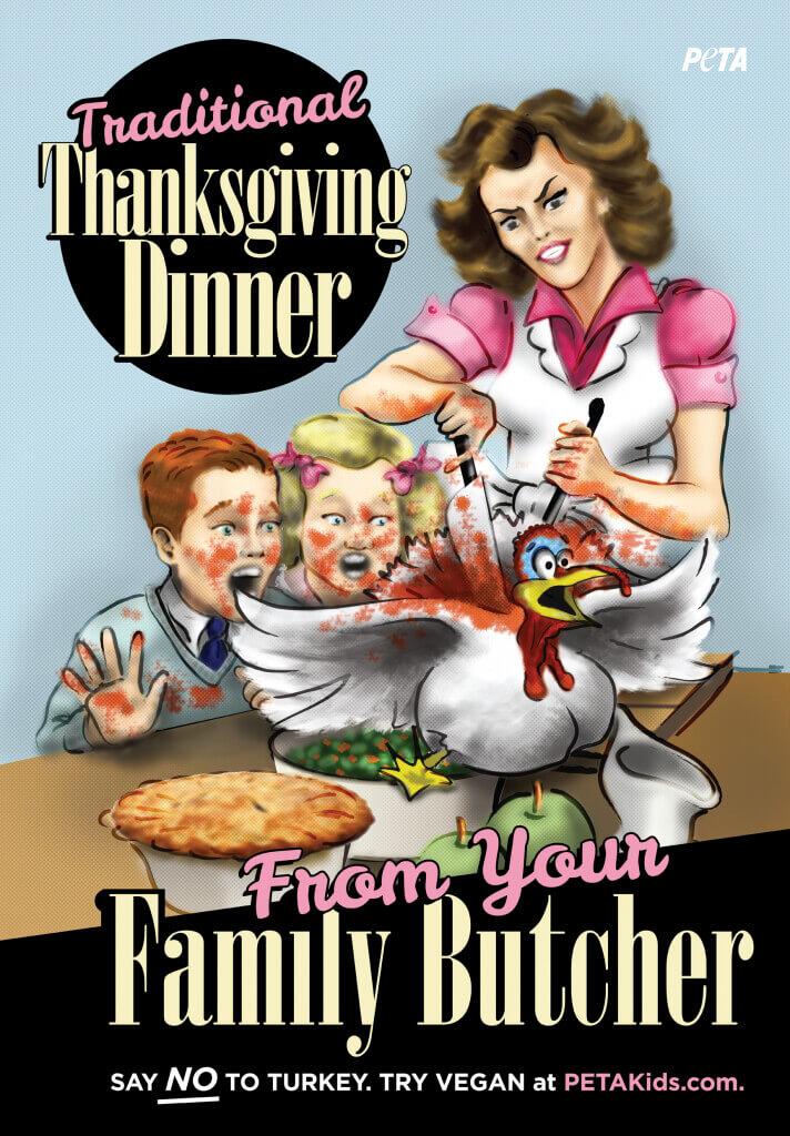 Thanksgiving Dinner Kid Version