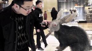 Fur Hurts Art Installation