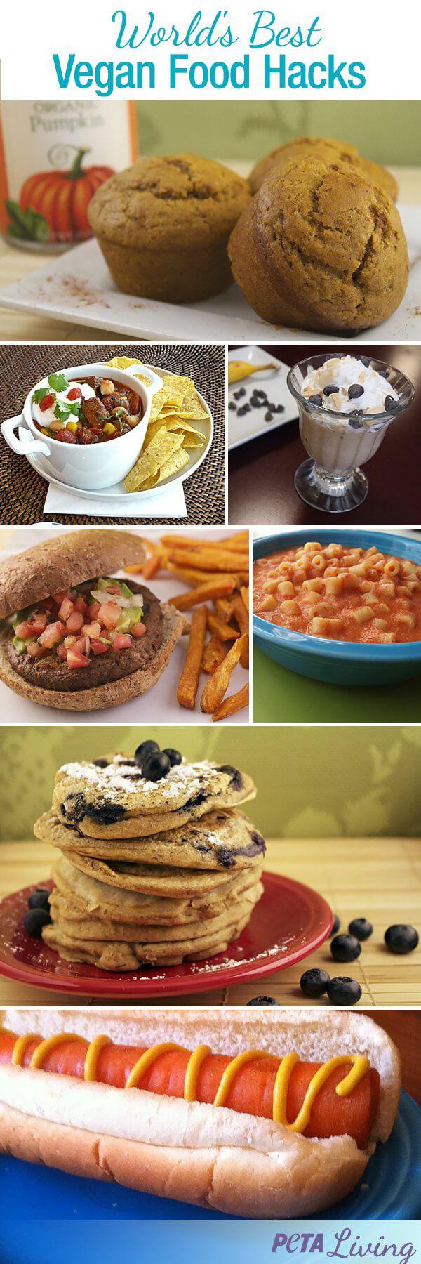 Best Vegan Food Hacks Share Able
