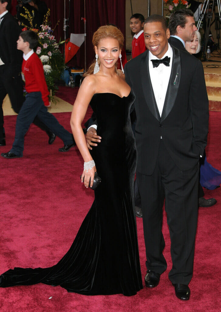 Beyonce Knowles and Jay Z on Red Carpet