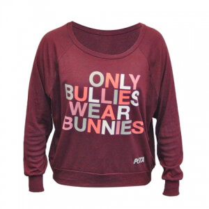 Only Bullies Wear Bunnies Top