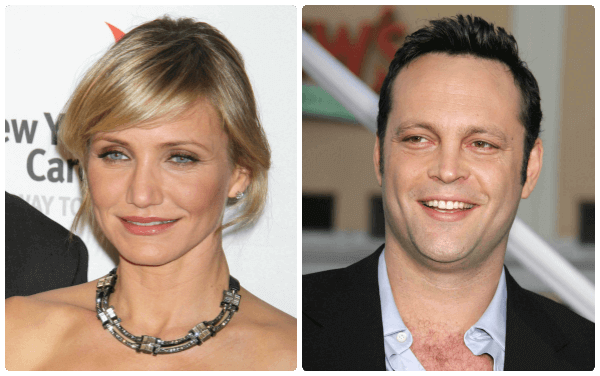 Cameron Diaz and Vince Vaughn