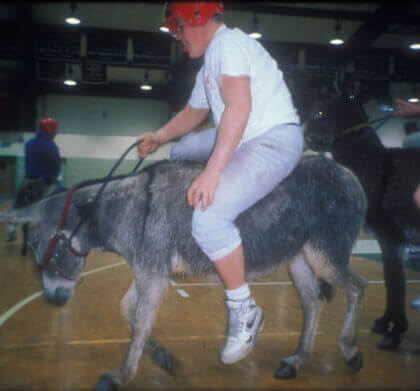 Anacortes Middle School Cancels Donkey Game!