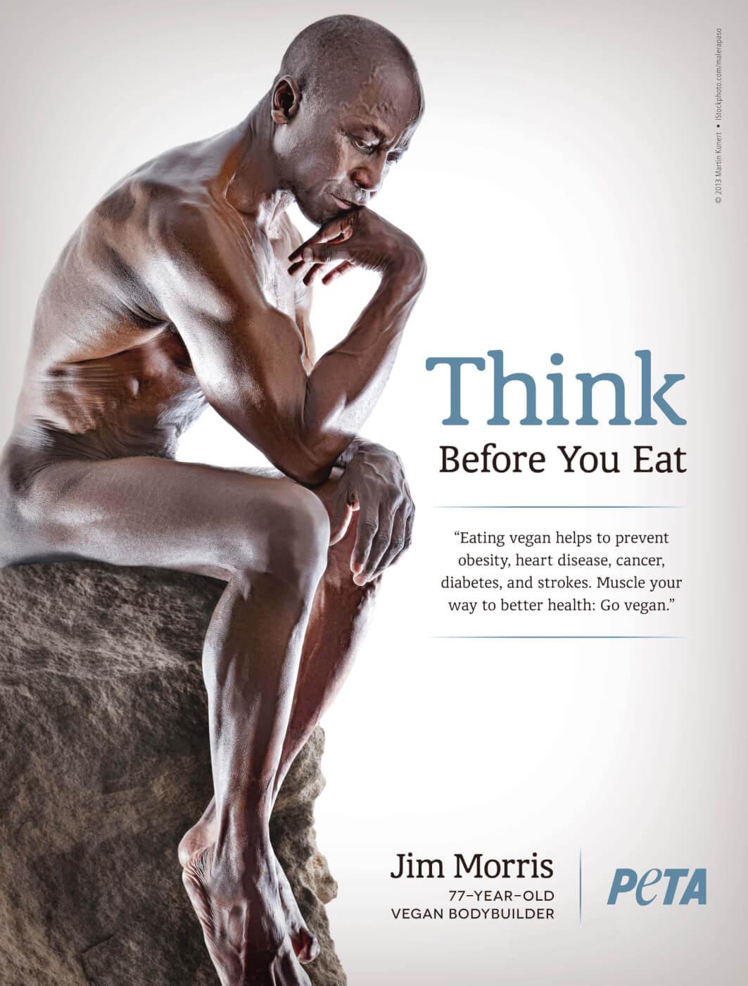 Jim Morriss Vegan Bodybuilder 78 years old
