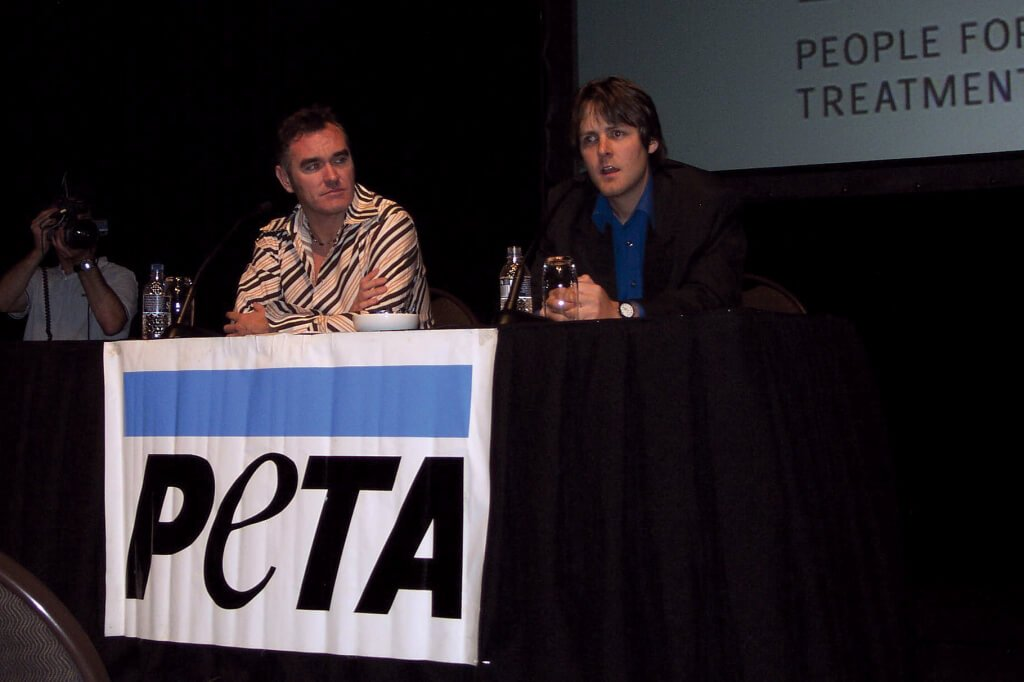 Morrissey and Jason Baker speaking at Thailand elephant conference