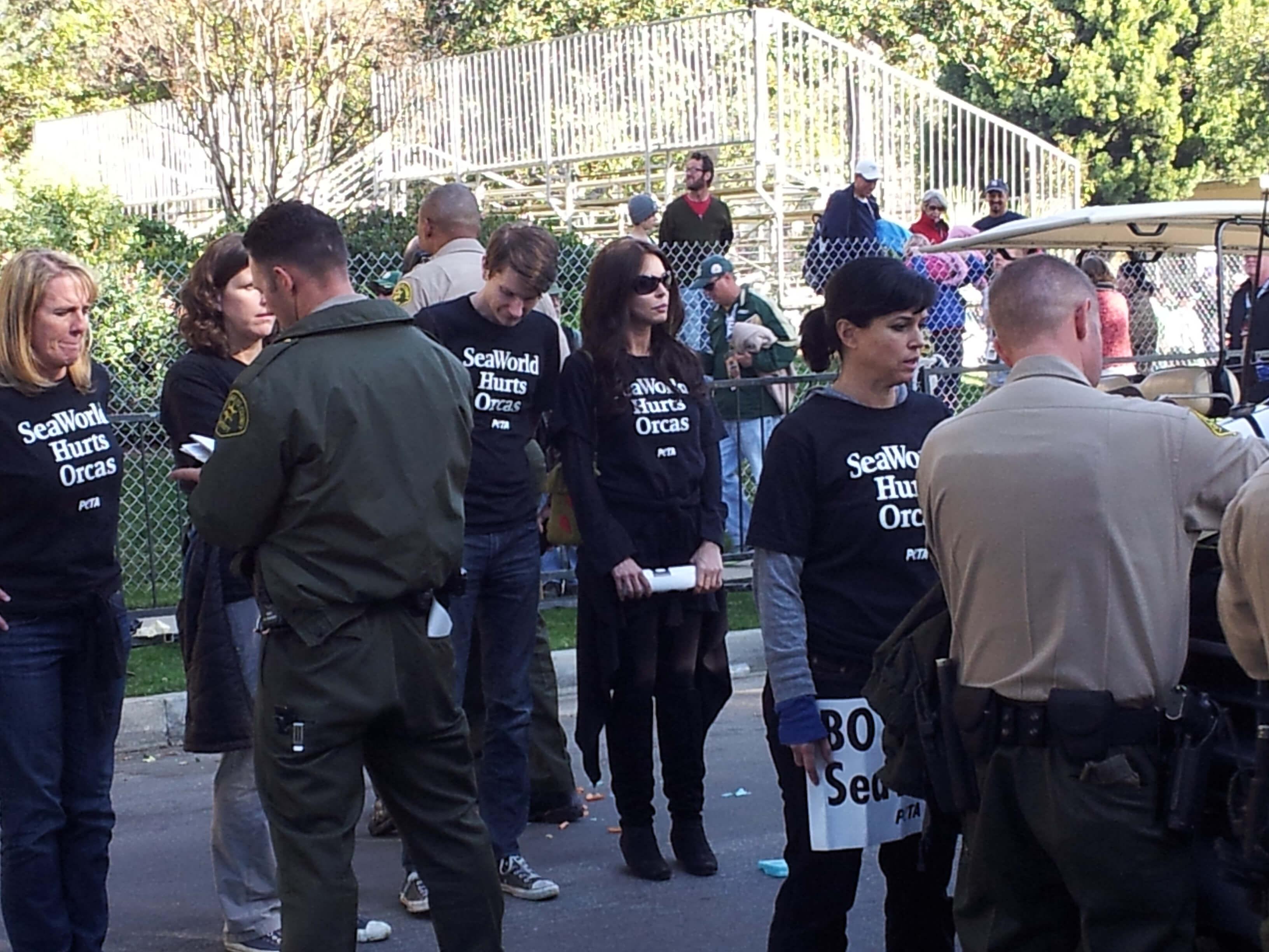 Rose Parade Protest 3