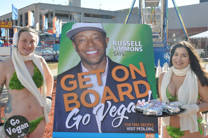 Russell Simmons Get on Board As Lettuce Ladies