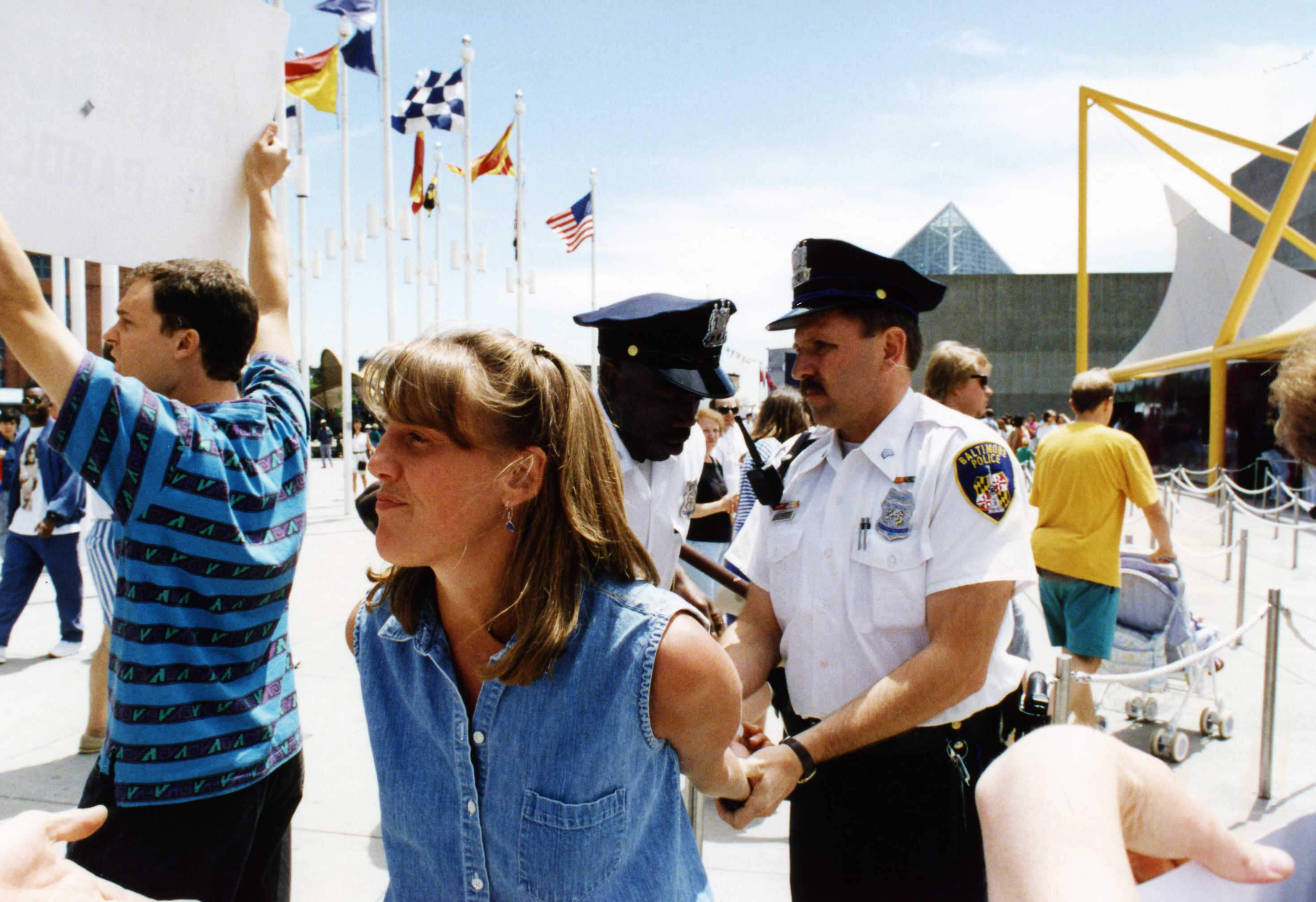 Tracy Reiman - Baltimore demo 1994