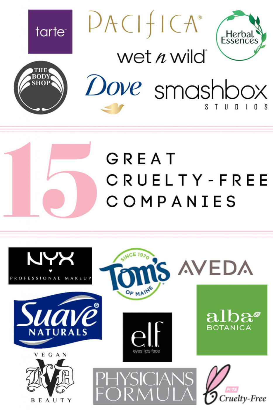 15 great cruelty-free companies
