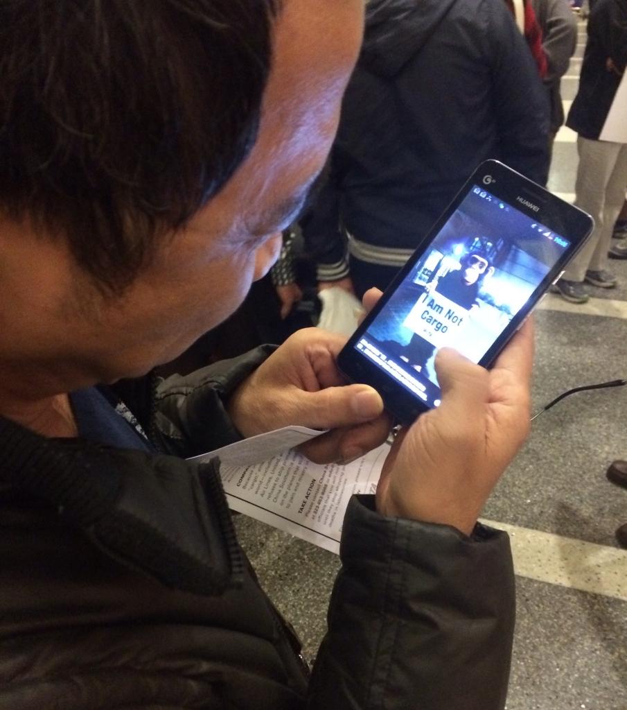 China Southern Protest at LAX (1)