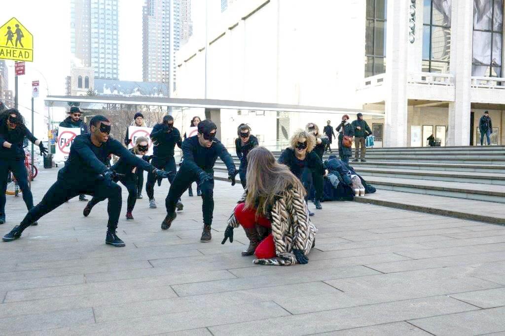 NYFW Fur dance 4
