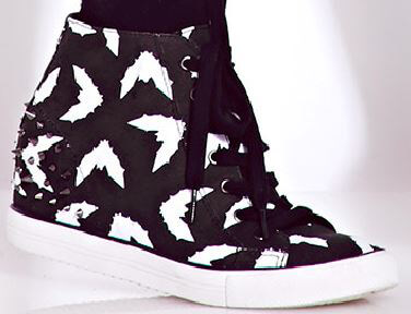 Bat Sneaker Shoes from Forever 21