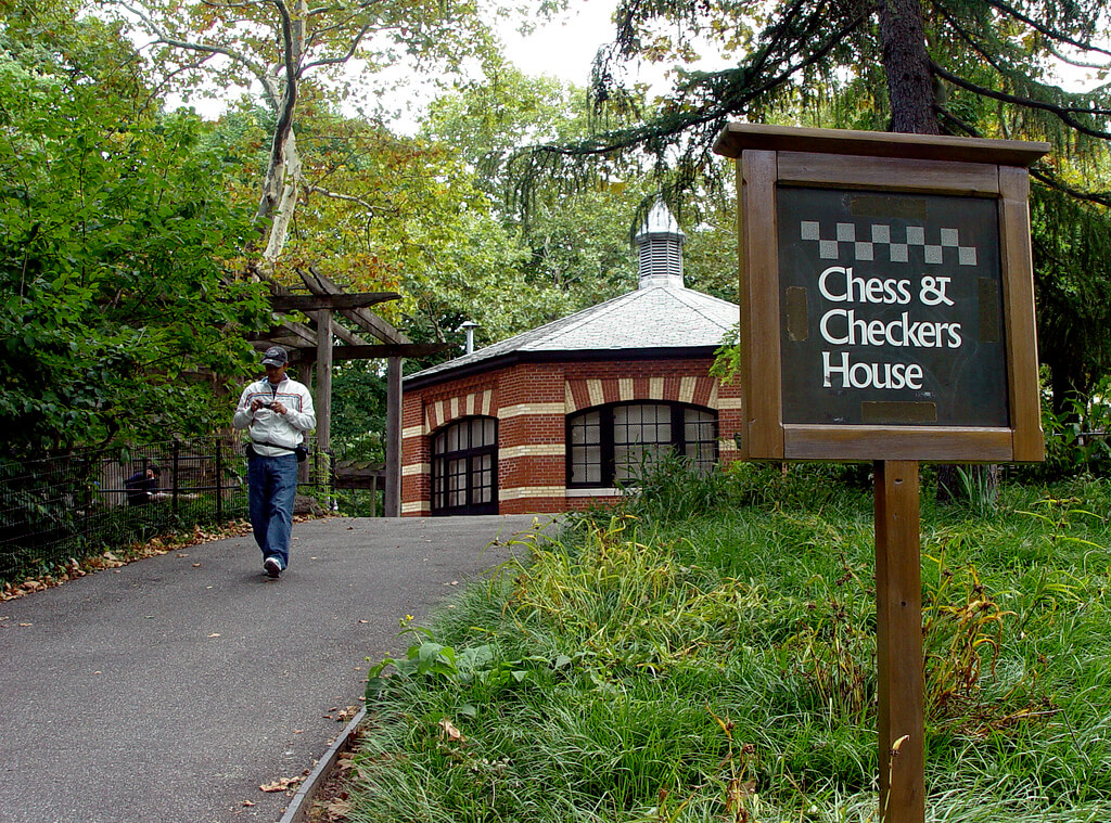 Chess and Checkers House