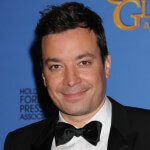 Jimmy Fallon at the 71st Annual Golden Globe Awards