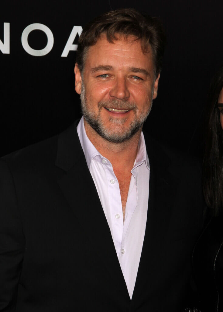 Russell Crowe at the Noah Premiere