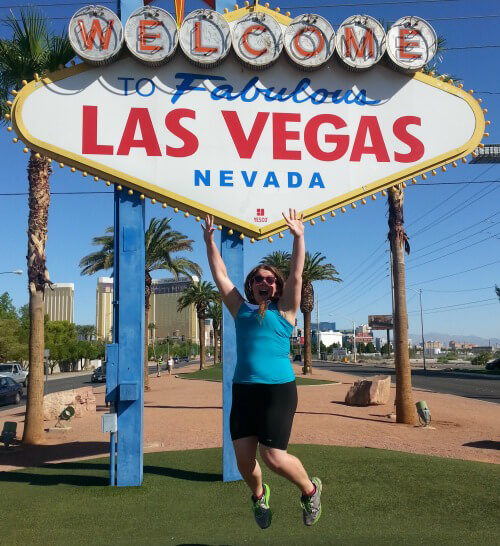 Vegas Sign Victory