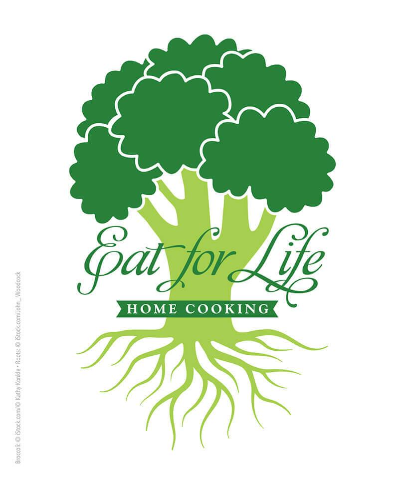 Eat for Life Restaurant Logo