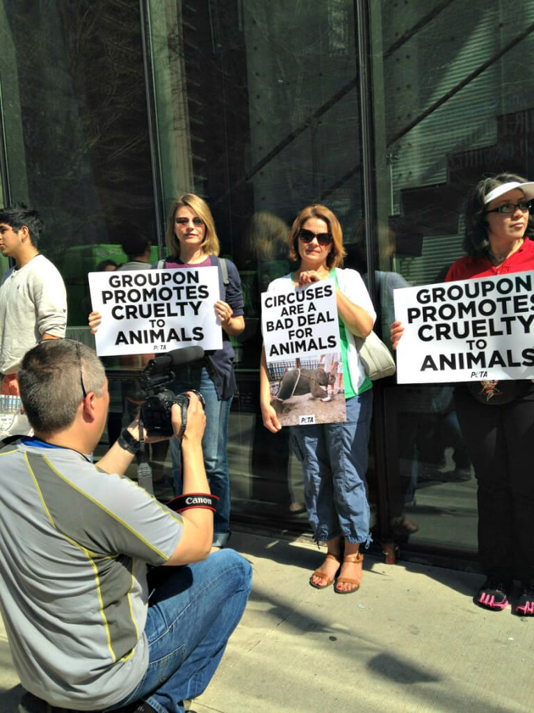 Groupon Protest (2)