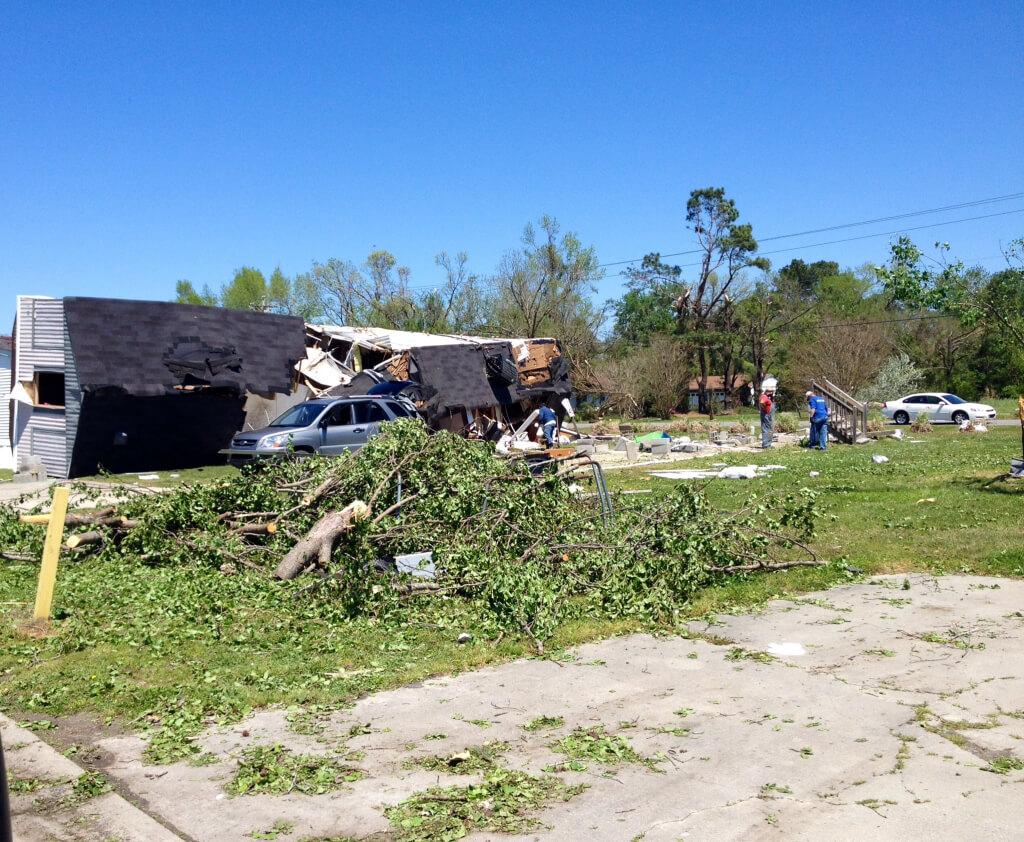 North Carolina After Tornadoes