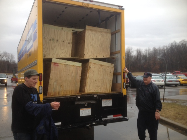 Northeast Ohio Correctional Center builds doghouses for needy dogs (3)