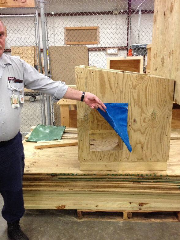 Northeast Ohio Correctional Center builds doghouses for needy dogs 5