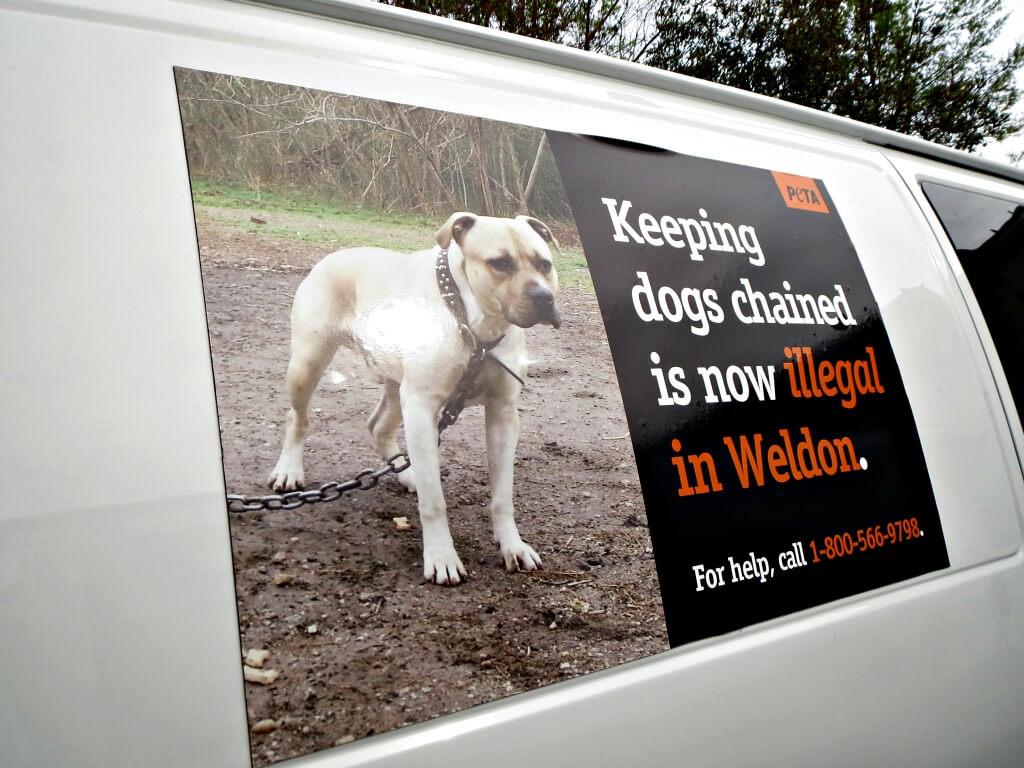 Weldon, NC Anti-Chaining Van Magnets