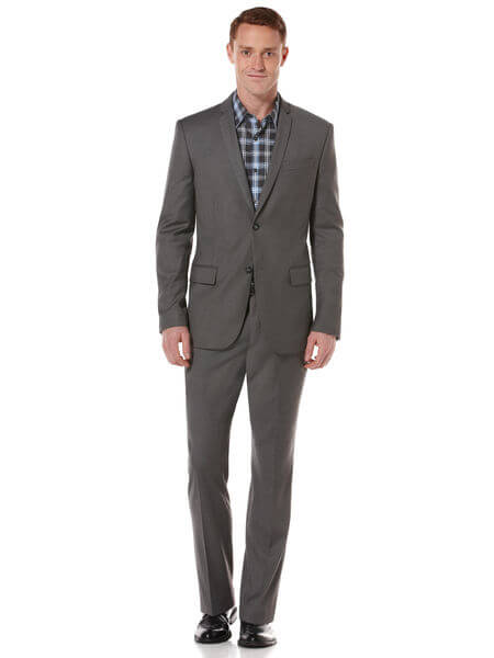Perry Ellis Gray Suit
